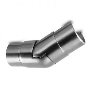 25-55° Upwards Connector for Slotted Tube