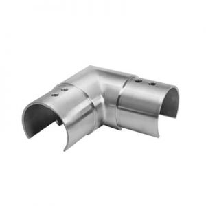 90° Horizontal Connector for Slotted Tube
