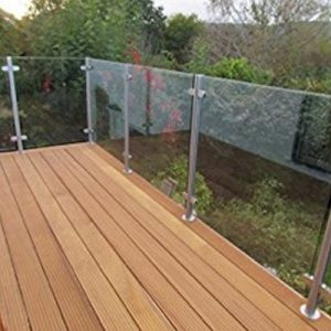 GLASS BALUSTRADE FOR DECKING