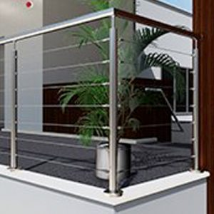 Stainless Wire Balustrade Per 1m