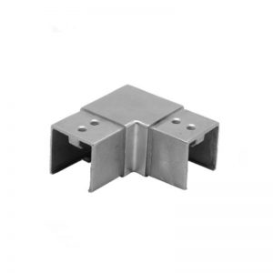Horizontal 90° Elbow For Slotted Tube 40 x 40mm