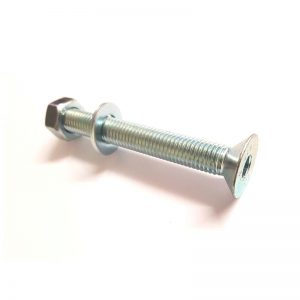 M12 x 100mm Socket Screw with Nut and Washer