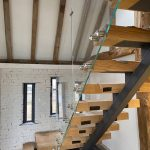 glass staircase balustrade in portsmouth